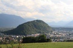 Áustria, Salzburg, ano 2011 Fotos de Stock Royalty Free