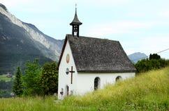 Áustria, Tirol, capela Fotos de Stock Royalty Free