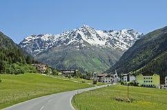 Áustria, Tirol, Pitztal imagem de stock royalty free