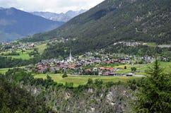 Áustria, Tirol, vale de Pitztal imagem de stock