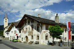 Áustria, Tirol, vila de Ladis imagens de stock