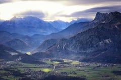 Áustria: Vale Imagem de Stock