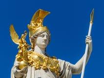 Áustria, Viena, o parlamento foto de stock