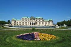 Áustria, Viena, palácio do Belvedere imagens de stock royalty free