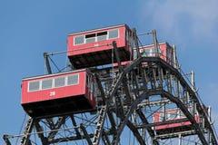 Áustria, Viena, roda de Ferris Fotos de Stock Royalty Free