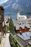 Áustria: a vila Imagem de Stock Royalty Free