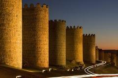 Ávila - España Fotos de archivo