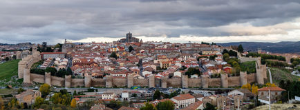 Ávila, Spain, walled city Stock Photo