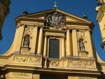 âªSalvatorplatz⬠Munich da igreja de Theatine imagens de stock royalty free