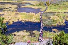 ¹ æ ½ ² ¸æ ³ æ – вид на озеро Lugu стоковые фотографии rf