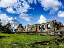 ¼ ŒCambodia di Preah Vihear Templeï fotografia stock libera da diritti