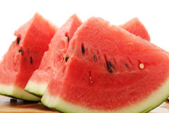 Ââwatermelon affettato Immagini Stock Libere da Diritti