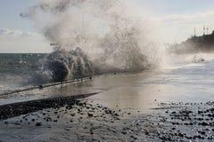 Ââwave do mar Imagens de Stock Royalty Free