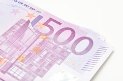 500 �. Stack of money euro bills banknotes. Euro currency from Royalty Free Stock Photo
