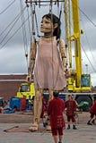 "The ""Little Girl Giant"" Stock Photo"
