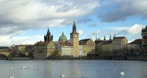 'My μνήμες και εντυπώσεις από την Πράγα - μια θαυμάσια θέση στοκ εικόνες