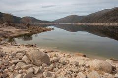 'Vilarinho das Furnas in het Nationale Park van Geres stock foto
