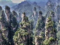 """""""Avatar""""berg tusen av höga kullar Arkivfoto"""