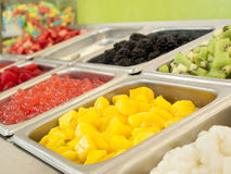 ‎Frozen Yogurt Toppings Royalty Free Stock Images
