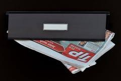 """""""TIP dera Woche"""" w listowym pudełku Zdjęcie Stock"""