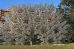 'Para siempre bicicletas ', trabajo de Ai Weiwei en Austin foto de archivo