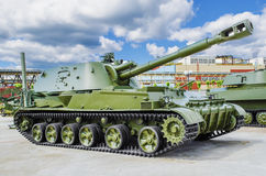 152‑mm self-propelled howitzer 2S3 Stock Photo