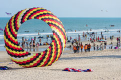 Cha-am International Kite Festival 2015 Thailand. Stock Images