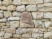 ​Close-up of a stone wall Royalty Free Stock Photography