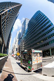 MANHATTAN, NEW YORK Arkivbild