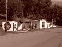 'Sabraton bensinstation '2013 royaltyfri bild
