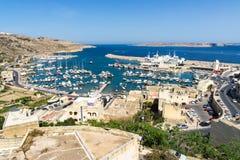 € гавани Mgarr «ворот к Gozo Стоковые Фотографии RF