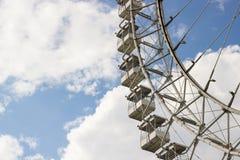 € «май 2016 МОСКВЫ, РОССИИ: Ferris катит внутри парк Izmailovsky Стоковые Фото