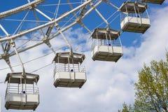 € «май 2016 МОСКВЫ, РОССИИ: Ferris катит внутри парк Izmailovsky Стоковая Фотография