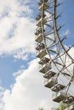 € «май 2016 МОСКВЫ, РОССИИ: Ferris катит внутри парк Izmailovsky Стоковое Фото