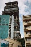 € «Мумбай Antilla, Индия Стоковые Фотографии RF