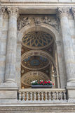 € национального театра Праги «детализировало взгляд к украшению Стоковые Изображения RF