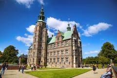 € «15-ое августа 2016 Копенгагена, Дании: Замок Rosenborg r Стоковые Фото