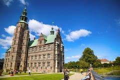 € «15-ое августа 2016 Копенгагена, Дании: Замок Rosenborg r Стоковое Фото