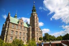 € «15-ое августа 2016 Копенгагена, Дании: Замок Rosenborg r Стоковое Изображение