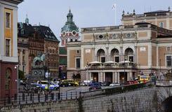 € «16-ое июня 2017 СТОКГОЛЬМА, ШВЕЦИИ: Взгляд исторического c Стоковая Фотография