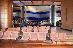 € «12-ое июня Sharm El Sheikh, ЕГИПТА: зал ожидания на авиапорте 12-ого июня 2015 Стоковая Фотография RF