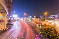 € «1-ое января 2015 Бангкока, Таиланда: Памятник победы t стоковое изображение rf