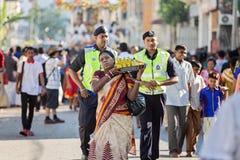 € «23-ье января 2016 Джорджтауна, Penang, Малайзии: Индусский подвижник Стоковые Изображения