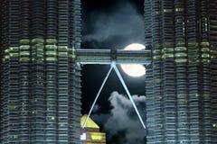 "€ ""Kuala Lumpur de Malásia - torres Fotografia de Stock"