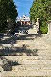 """€ """"Lynchburg, la Virginia, U.S.A. del terrazzo del monumento Fotografie Stock"""