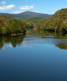"€ ""Ridge Parkway azul de James River Imagens de Stock Royalty Free"