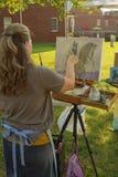 """€ """"Salem, Virginia, los E.E.U.U. de la pintura del artesano Fotos de archivo libres de regalías"""