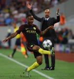"""€ """"STEAUA BUCAREST de la CALIFICACIÓN de la LIGA de CAMPEONES de UEFA contra Manchester City Imagen de archivo libre de regalías"""