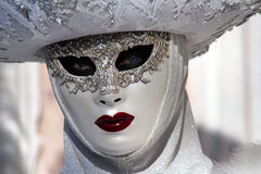 "€ ""Venezia de Itália - máscara amarela Imagem de Stock"