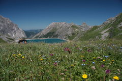 """€ """"Vorarlberg - Austria de Luenersee Fotos de archivo libres de regalías"""